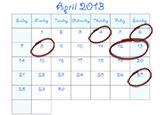 ArtRageous April from Pocket Productions